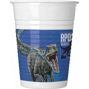 8 Gobelets Jurassic World