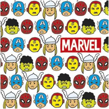 20 Serviettes Avengers Pop Comics