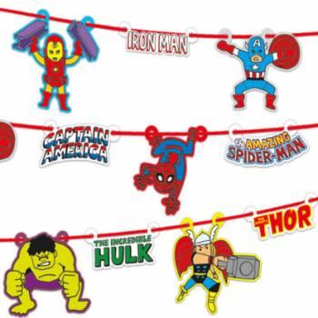 Guirlande Avengers Pop Comics