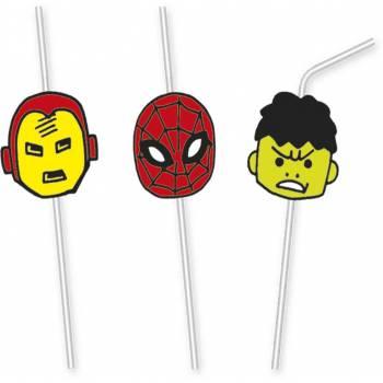 6 Pailles Avengers Pop Comics