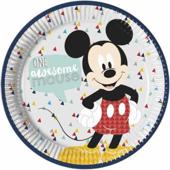 8 Assiettes Mickey awesome
