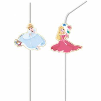 6 Pailles Princesses Disney luxe