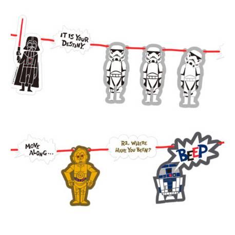 Guirlande Star Wars geek