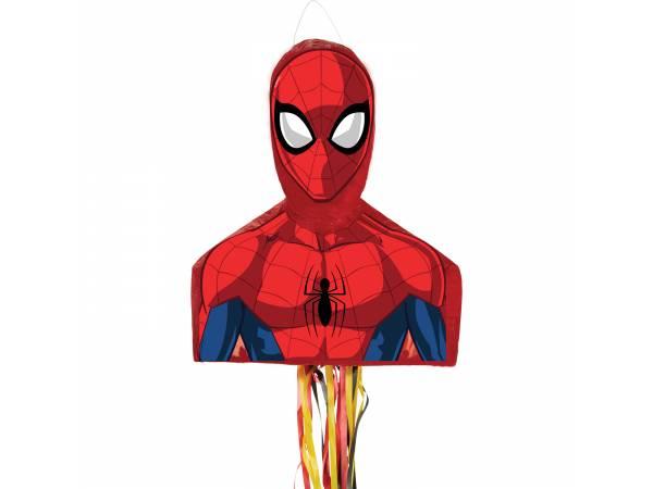 Pinata pull tête de Spiderman