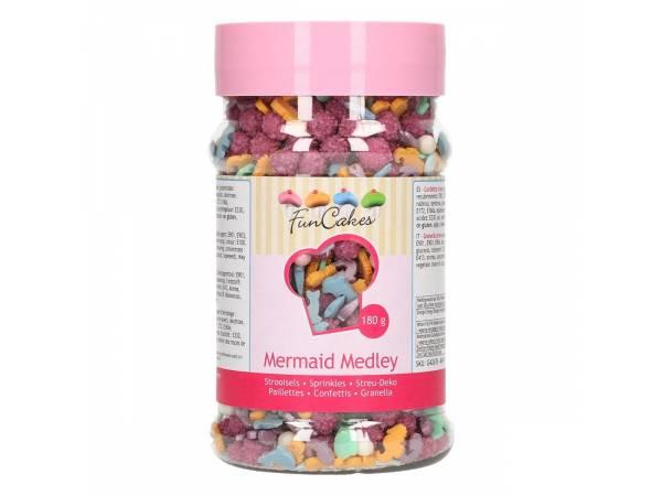 Confettis en sucre mix sirène