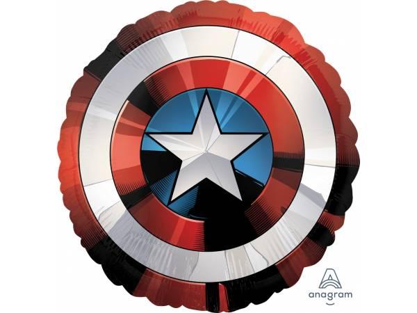 Ballon hélium Captain bouclier