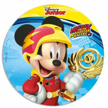 Disque en sucre 16cm Mickey