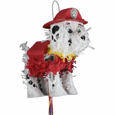 Pinata à fil en forme de Marcus le héros du dessin animéPat Patrouille à remplir de bonbons et de jouets pour l'anniversaire de votre...