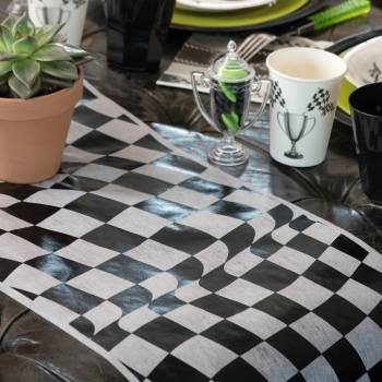 Chemin de table F1 Racing Car