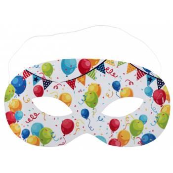 10 Masques anniversaire arlequin
