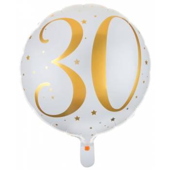 Ballons hélium âge d'or 30 ans