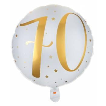 Ballons hélium âge d'or 70 ans