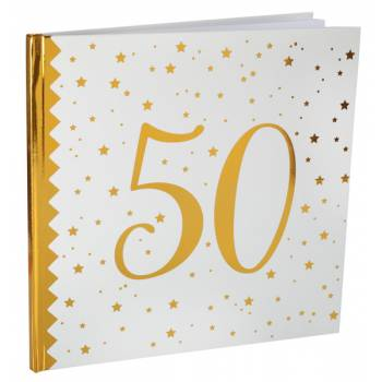Livre d'or âge d'or 50 ans