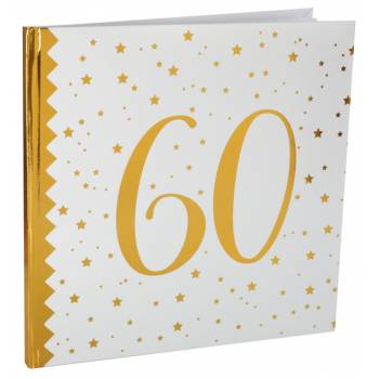 Livre d'or âge d'or 60 ans