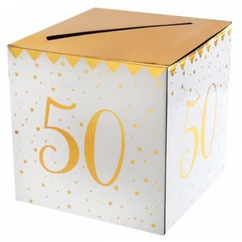Tirelire âge d'or 50 ans