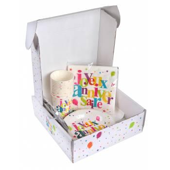 Kit Joyeux anniversaire multicolore