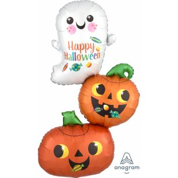 Ballon hélium trio halloween