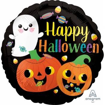 Ballon hélium ghost pumpkins