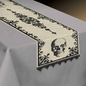Chemin de table squelette