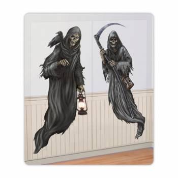 2 Décors personnage de La mort