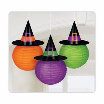 3 Lanternes sorcière