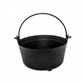 Chaudron noir 23x13cm