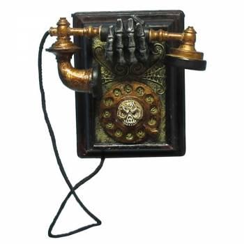 Téléphone hanté animé et sonore