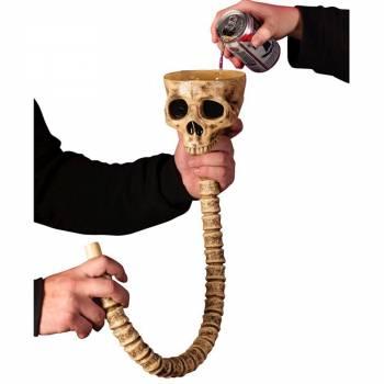 Entonnoir squelette pour boire