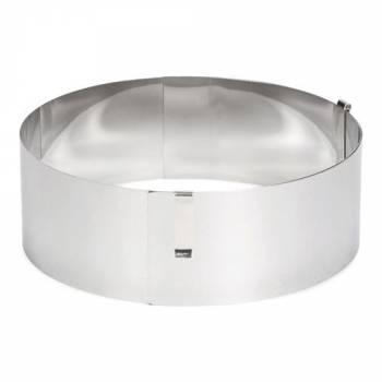 Cercle à pâtisserie réglable 13-31cm