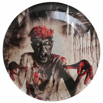 10 Assiettes zombie