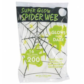 Toile d'araignée glow in the dark