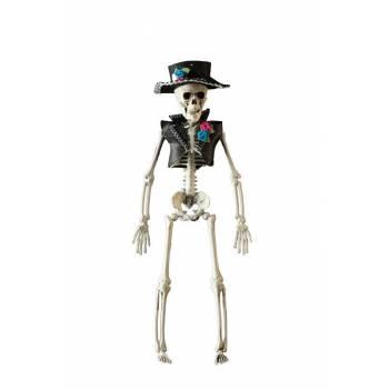 Squelette homme jour des mort