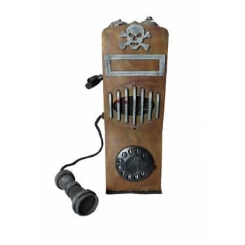 Téléphone vintage son et lumière