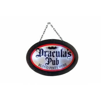 Pancarte pub dracula lumineuse