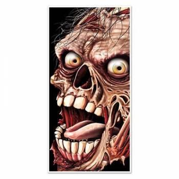 Décor de porte zombie