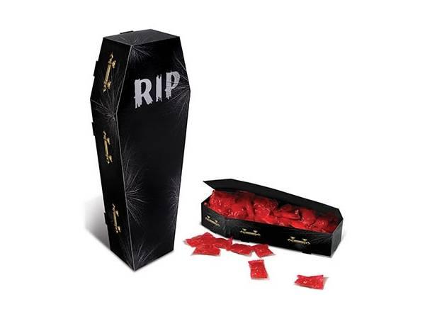 Boite à bonbons cercueil