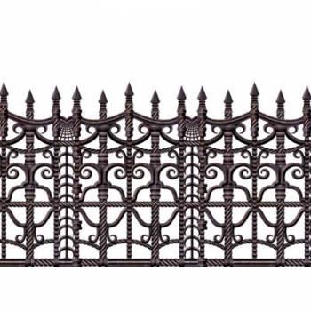 Décors muraux clôture gothique