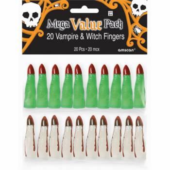 20 Doigts de vampire et de sorcière