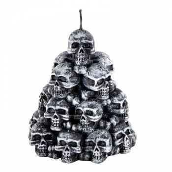 Bougie tas de crânes