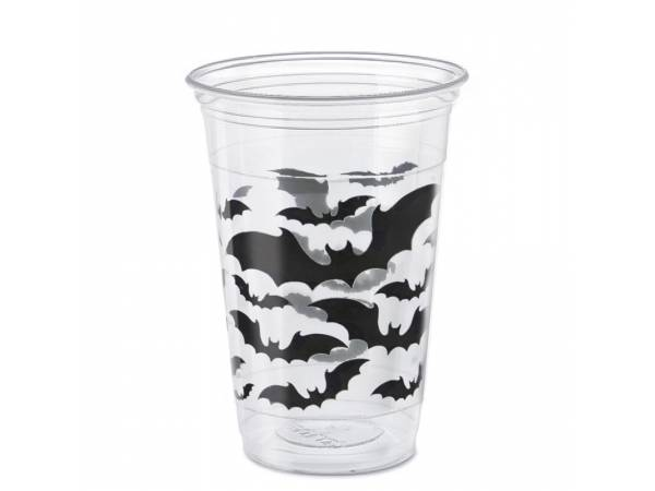 gros gobelets Halloween bats
