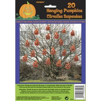 20 sachets à feuilles citrouille