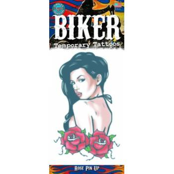 Tattoos Biker pin up