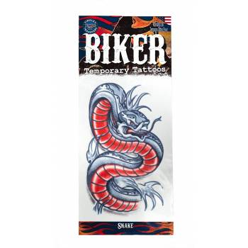 Tattoos Biker serpent