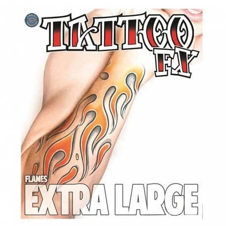 Tattoo géant flamme