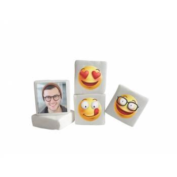 48 Guimize carrés personnalisés photo Smile