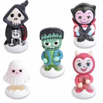 5 Monstres Halloween en sucre
