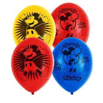 6 Ballons Mickey only