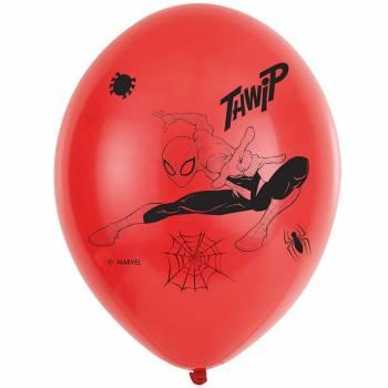6 Ballons Spiderman