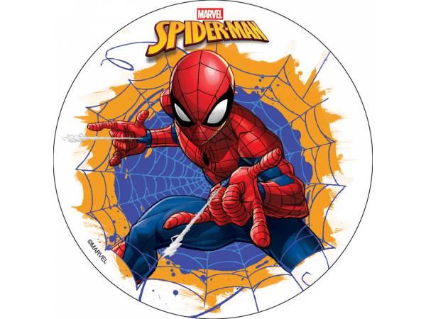 Disque comestible sans sucre Spiderman - Deco de gâteau