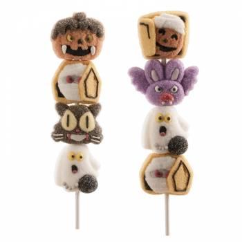 Brochette marshmallow Halloween